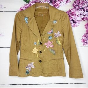 Johnny Was | Embroidered Floral Blazer